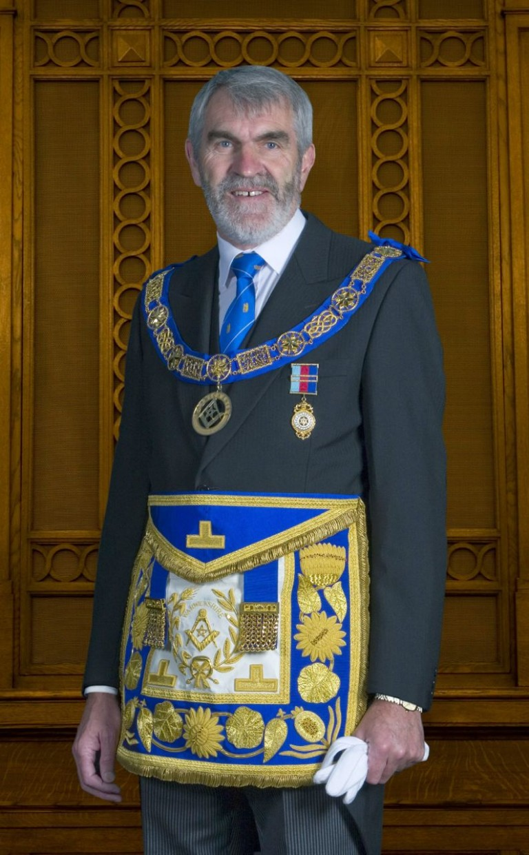 New Worshipful Master