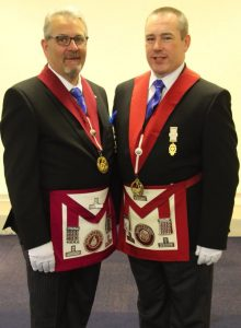 W. Bro Peter Round and W. Bro Ian Slesser are both appointed as Provincial Grand Stewards for 2016/17.