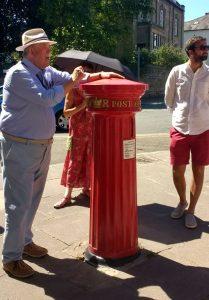 Graham Sutherland explains why letter boxes no longer have vertical slots.