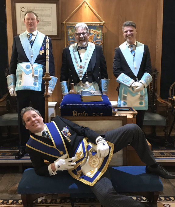 A new year and a new Master for the Lodge of Unity 567