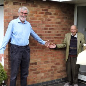 A Surprise For 99 Years Young Bob Griffiths